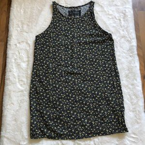 Reformation mini floral dress sleeveless size XS/S